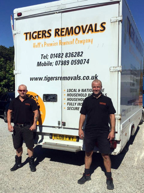 Tigers Removals, Hull